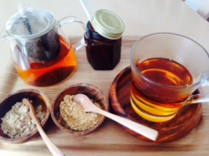 生姜紅茶 1